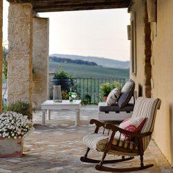 Casa La Siesta porch and chairs