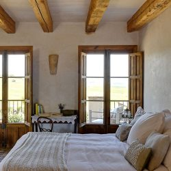Casa La Siesta bedroom with view