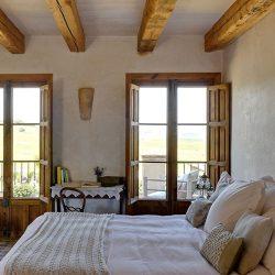 Casa La Siesta bedroom with view