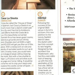 EasyJet Magazine article