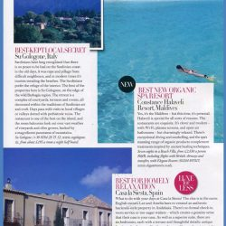 Harpers Bazaar Travel | 12/09
