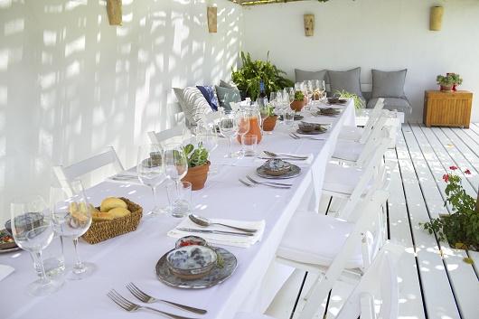 Dining at Casa La Siesta