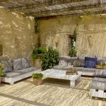 Relaxed Seating Outdoors