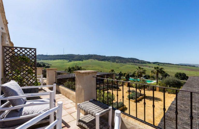 Stunning bedroom views at Casa la Siesta