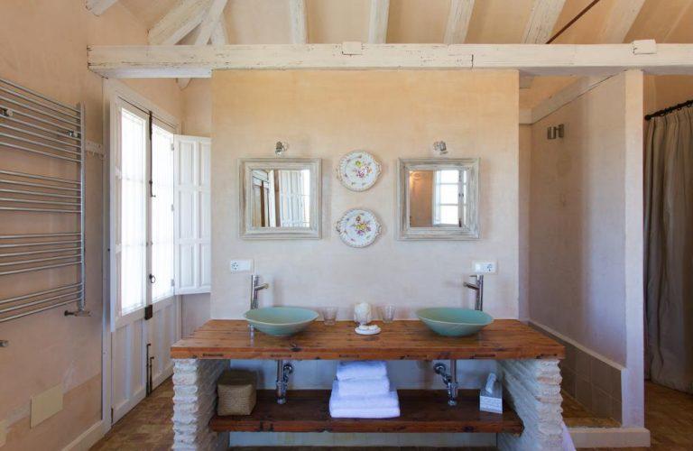 Chic double basin bathrooms