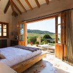Spacious bedroom and private terrace