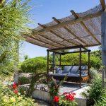 Zona Chillout en los jardines