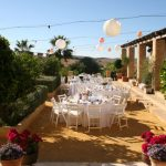 Outdoor wedding in Spain