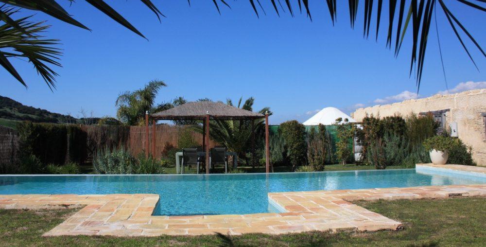 beautiful pool in cadiz hotel