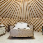 Glamping bed
