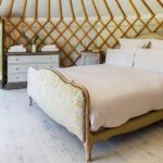 Glamping in a stylish Yurt