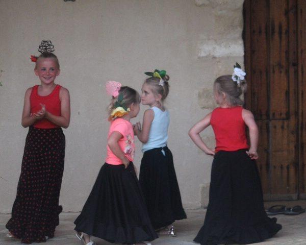 Flamenco Lessons for Children at Casa la Siesta