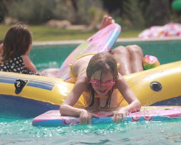 Children friendly pool fun