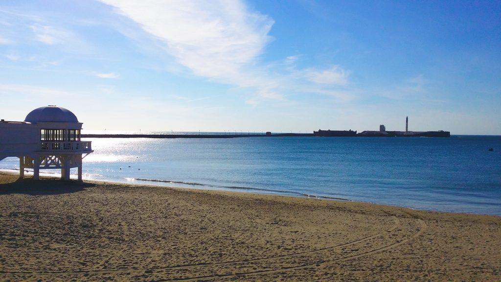 Beach in Cadiz Spain