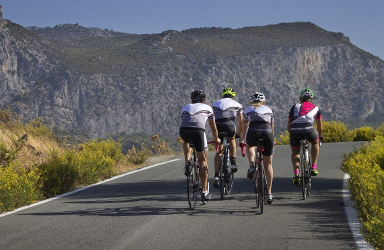 Road Cyclists in Vejer de la Frontera