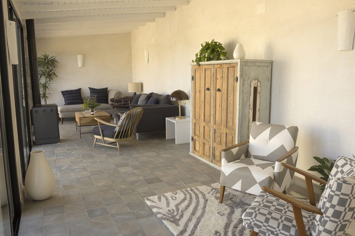 Living Room of The Stables at Casa La Siesta