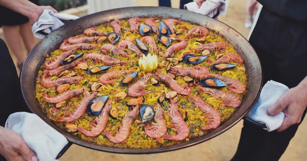 Paella lunch