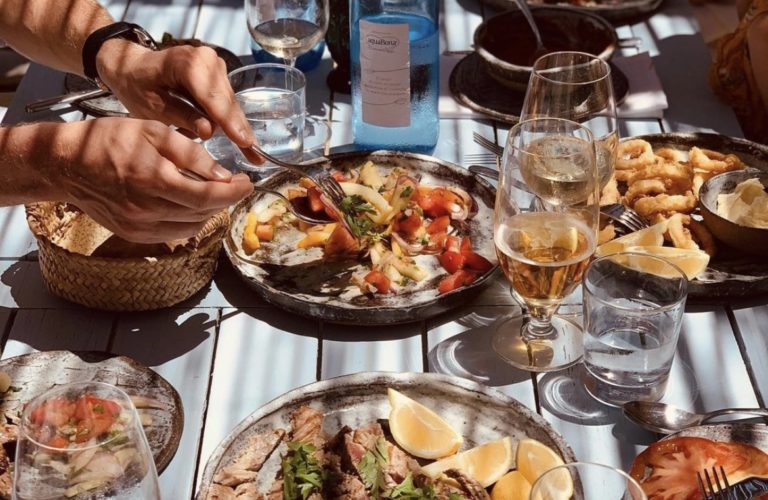 Lunch at Casa La Siesta